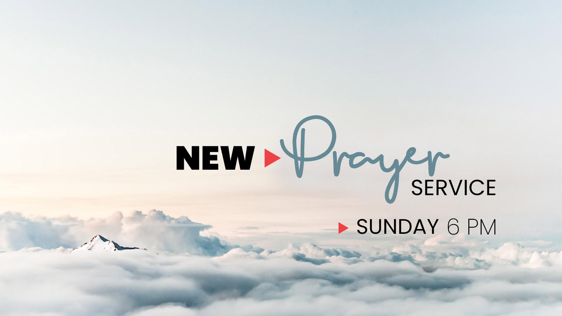 Sunday-Prayer-service